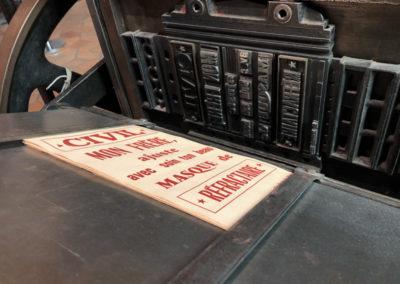 L'imprimerie et la résistance